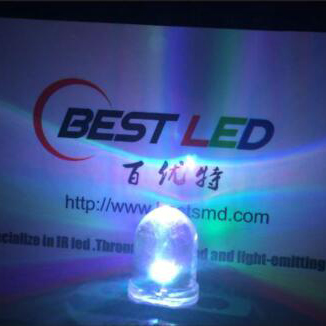 Addressable LED - 10mm addressable RGB LED 12S