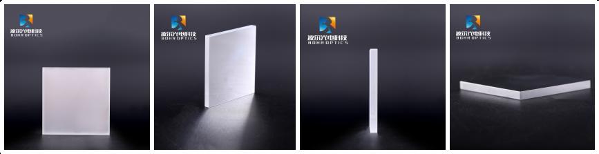 10 * 10 mm quadratischer N-BK7-Glasschutzspiegel mit metallisch beschichteter optischer Platte