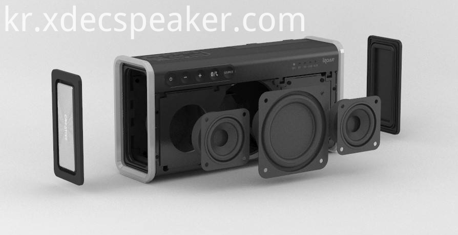 3 inch 8ohm 15w Speaker application