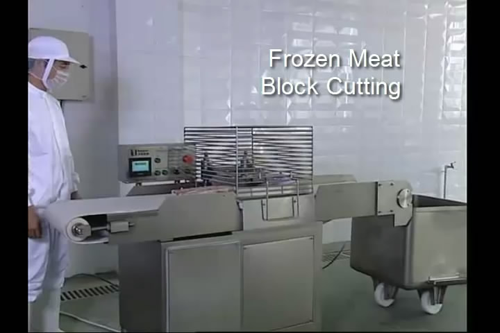 Frozen Meat Cross Cutter, Frozen Meat Dicer