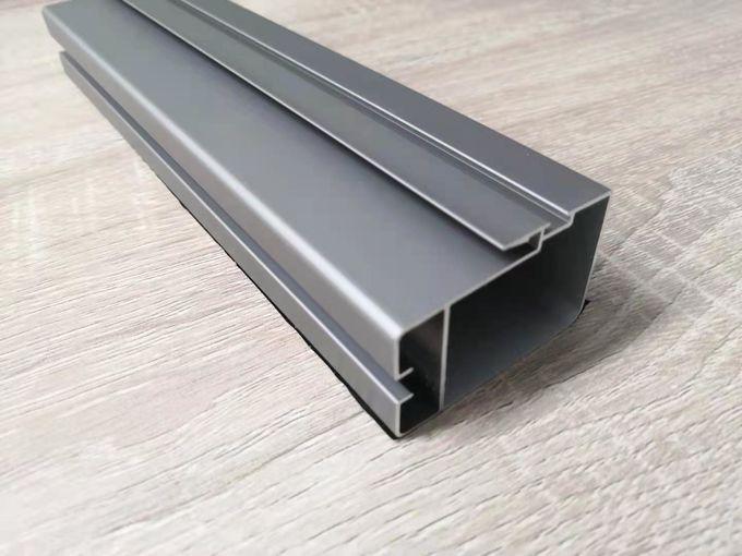 l'extrusion en aluminium de voie de glissement de 1.2mm Windows profile le type non thermique 0 de coupure