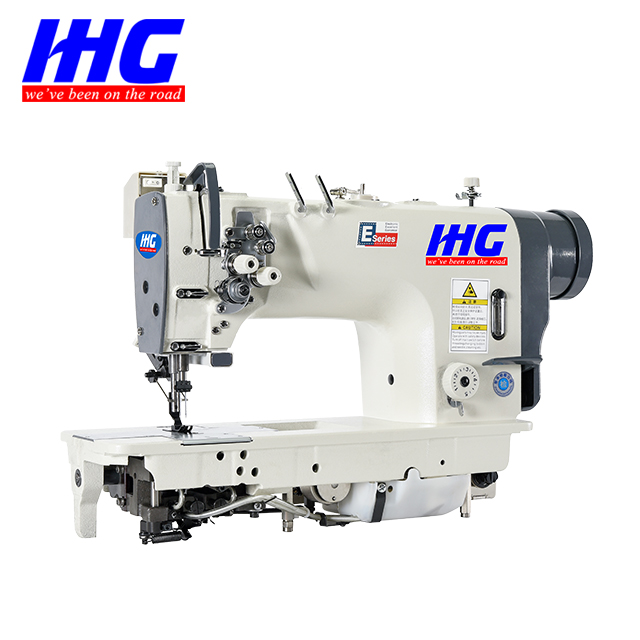 IHG-Double Needle Sewing Machine Working Video