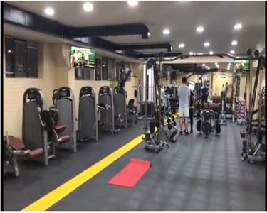 Uzbekistan Arena fitness club with GANAS Gym Equipment