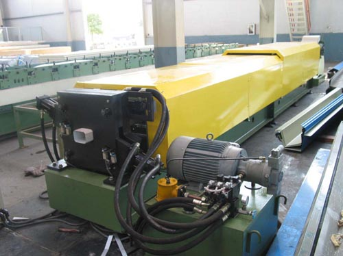 Down spout pipe forming machine