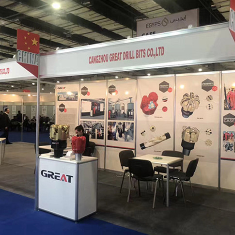 Great Drill Bits in Egypt Oil Show