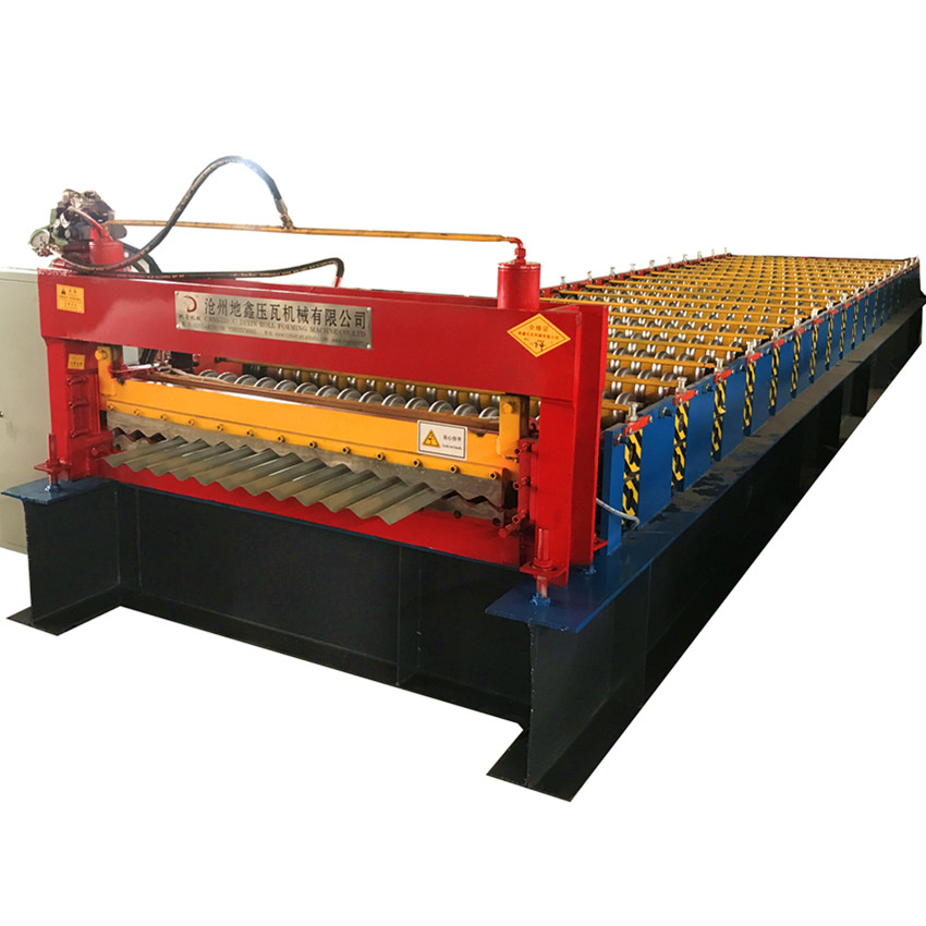 Corrugated Roof Tile Roll Forming Machine
