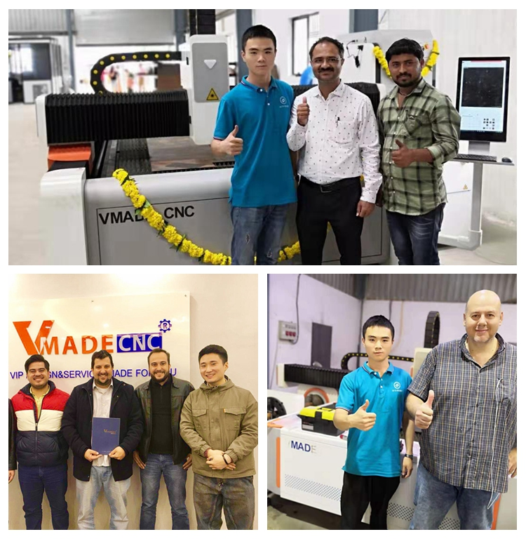 Fast Speed High Quality Laser Cutter 1KW Fiber Laser Cutting Machine 1500*3000