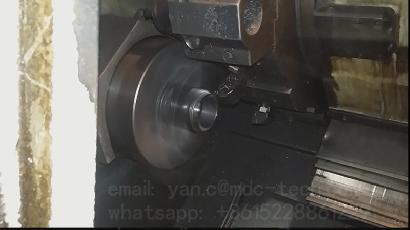 Our CBN MBK9560 Turning Inserts Working Gear with Material 20CrMnTi