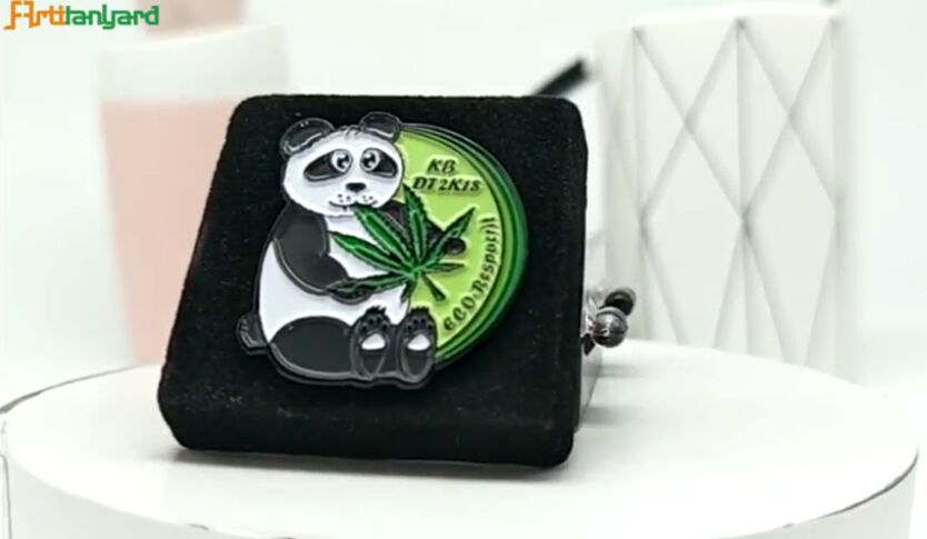Custom Badges with Cute Panda Apperance