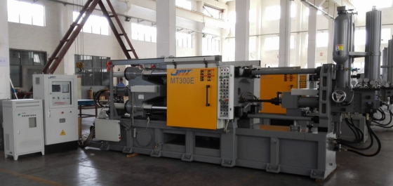 Bigger die casting machine
