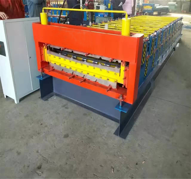 double layer roofing sheet equipment