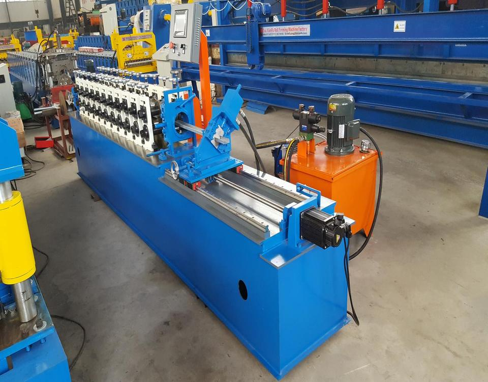 C U Keel Roll Forming Machine