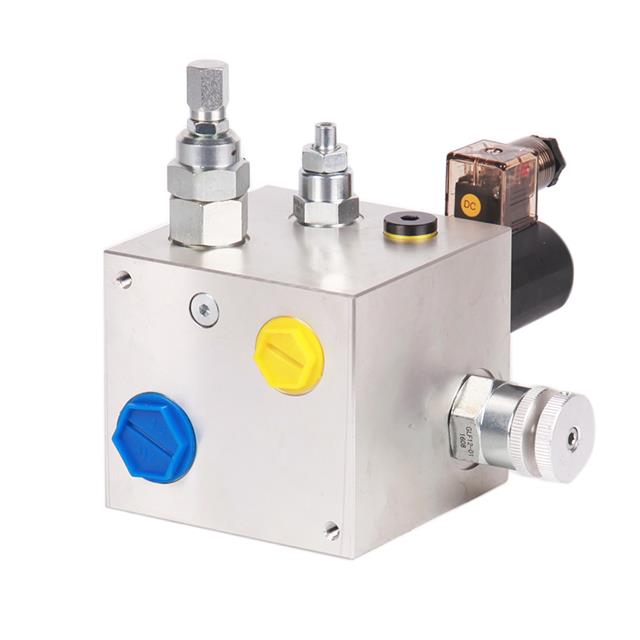 Aluminum Manifold Block with cartridge valve