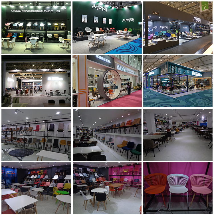 Resturent Chair Table Dining Furniture Round Rotating And Chairs Low Price Home Furnitures Shang Cen Glass Top With Six Seater
