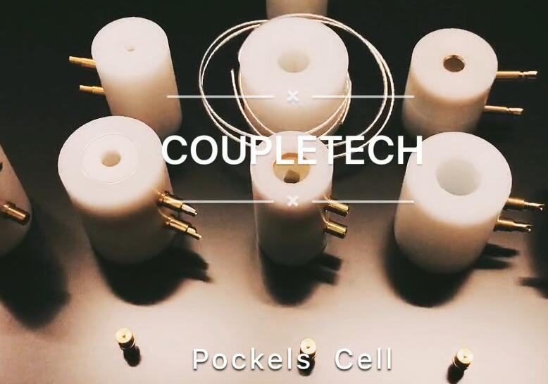 Main product of Coupletech: Pockels cell.