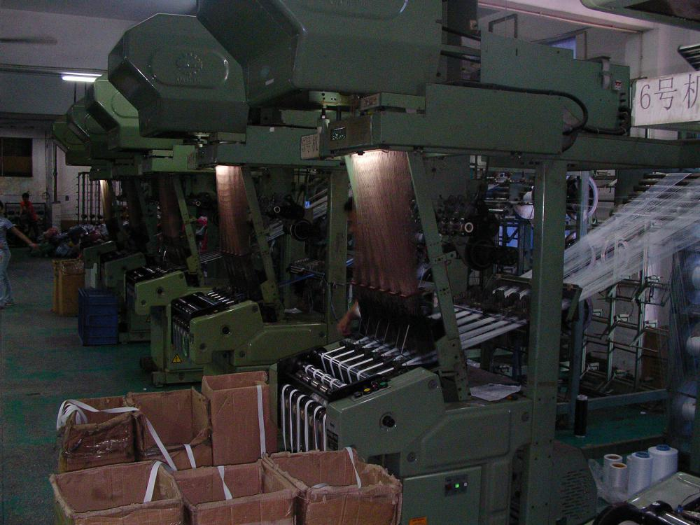 Woven Jacquard machines department