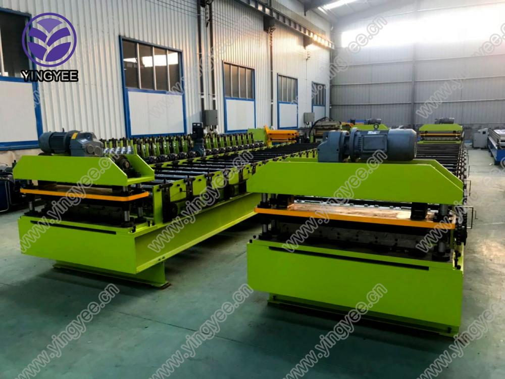 30m/min high speed roof roll forming machine 03