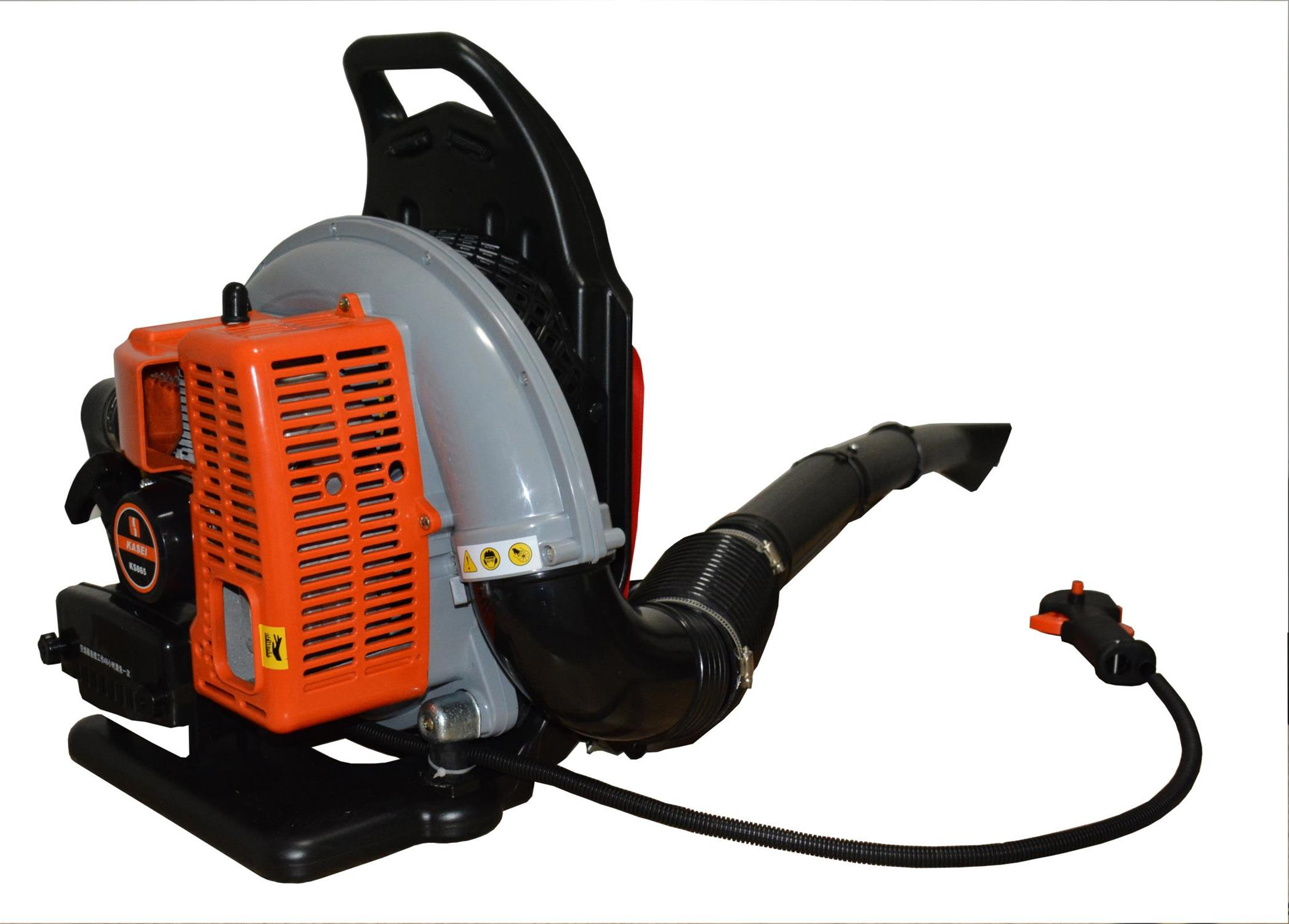 OUKE Two Stroke/Four Stroke Backpack Blower Work Video