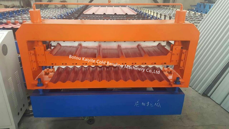 Double Layer Roof & Wall Panel Roll Forming Machine