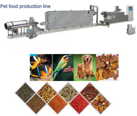 New Tech Pet Food Extruder