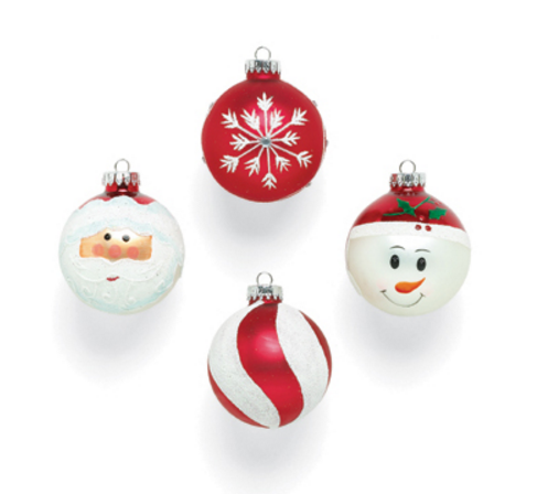 Christmas Item Type Plastic Craft Party Supplies Glass Ornaments