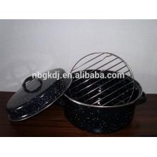 Pote de assado de esmalte coreano Pote de assado de esmalte coreano