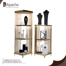 Professional China for Shopping Mall Display Shelf Luxury Metal Display Rack For Boutique supply to Guatemala Exporter
