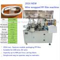 Machine automatique de film de bobinage de fil de pp