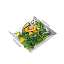 stainless steel vegetable grid basket