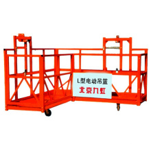 High Building Construction SGS CE GOST ZLP Rope Suspended Platform