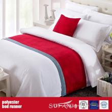 Usine de coureur de lit de tissu de décoration de poly