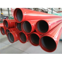 ASTM A53 Sch10 UL FM Groove End Fire Fighting Steel Pipe