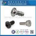 Taiwan OEM hochwertige benutzerdefinierte hohe Präzision Schrauben Elektronik Schrauben