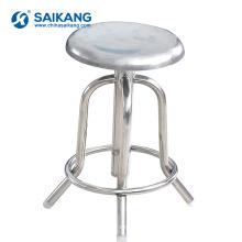 SKE017 Stainless Steel Medical Manual Nurse Office Relaxing Chair