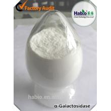 enzyme alpha-galactosidase, industrie brassicole
