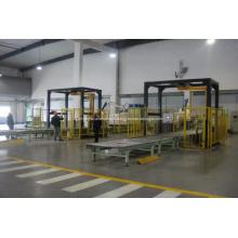 Machine à emballer horizontale de porte de machine d'emballage de bout droit