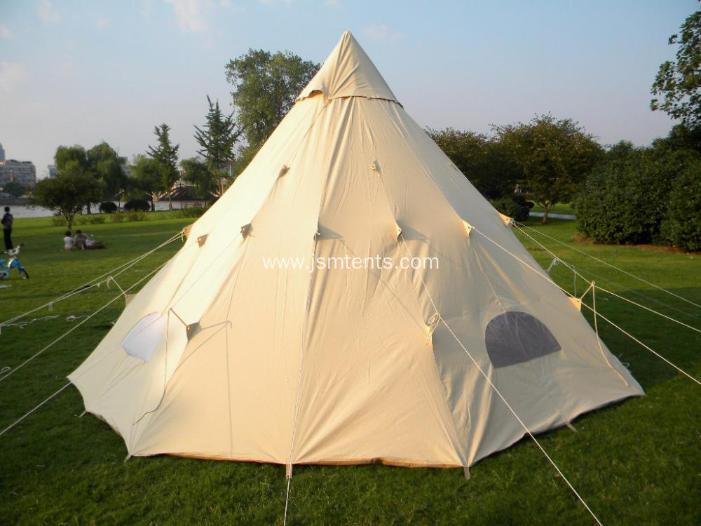 china luxury canvas cotton tipi tent 5m teepee tent manufacturers. Black Bedroom Furniture Sets. Home Design Ideas