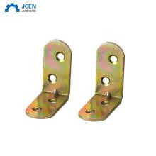 Custom brass right angle work corner brackets