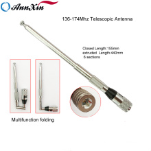 Manufactory Vhf 136-174 Mhz Folded Dipole Telescopic Antenna