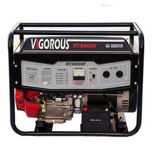 Générateur de secours à gaz refroidi à l'air de 8KW