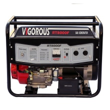 8KW luchtgekoelde, op gas werkende stand-by-generator