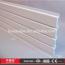 "4 "" 6"" 8 "" PVC dispaly panel wholesale MDF slatwall"