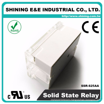 SSR-S25AA Alibaba Shining Solid State And Zero Cross Relay 25A
