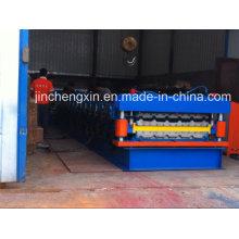Профилегибочная машина для производства кровельных листов из гофрированного металла с двойным профилем в Китае