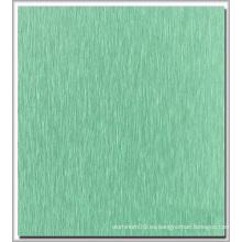 Cepillo de color recubierto de aluminio de la placa de decoración utilizado