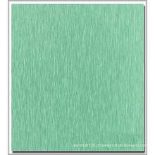Placa de alumínio revestida de cor de escova para decoração usada