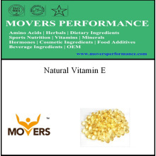 Vitamina pura natural da qualidade superior E