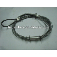 Safety cables for hose to hose service