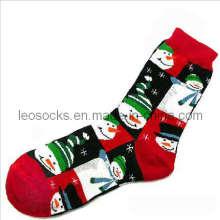 Хлопковые рождественские носки для мужчин и женщин (DL-CR-05)