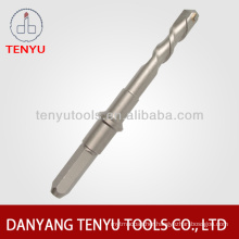 Four squares shank hammer drill bit in Standard Flutes sds drilling concrete